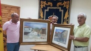 Donacion de dos de mis Obras al Ayuntamiento de Berrocal