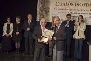 Entrega del Premio de la Agrupacion Española de Ac